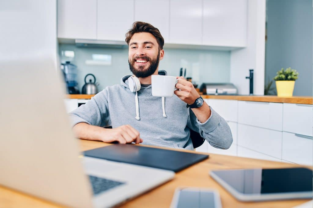 Die Möglichkeit zu Home-Office ist für Mitarbeiter ein wichtiges Benefit.